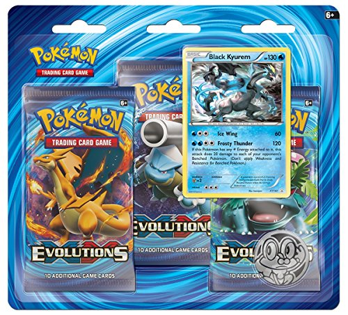Pokemon TCG XY Evolutions Three-Booster Blister Card Game