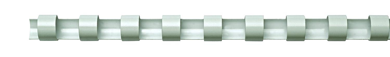 51 mm blanco Fellowes 5350202 Canutillos de pl/ástico para encuadernar