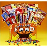 Junk Food & Candy Gift Basket - Great Care Package for College Kids
