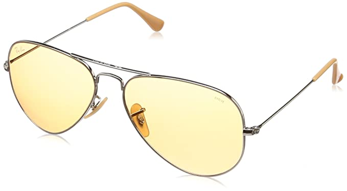 1e0a7de98502 Ray-Ban Unisex Sunglasses Aviator  Amazon.co.uk  Clothing