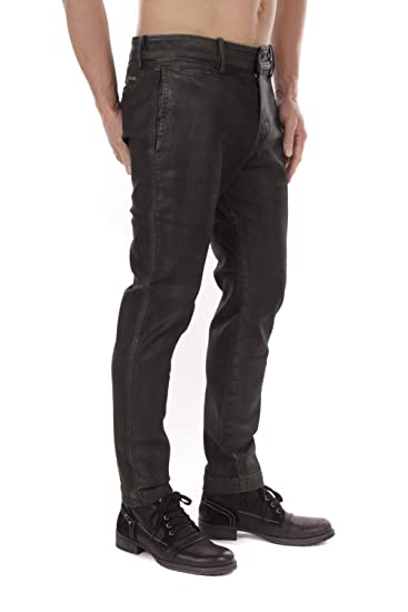 f7571e3704a487 Diesel Chi-Shaplow-Un Pantaloni Men's Pants Chino (Black, W32): Amazon.co.uk:  Clothing