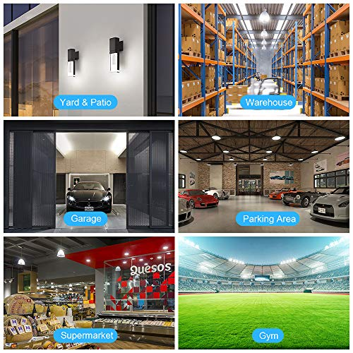 Bedee LED Light Corn Bulb 400W Equivalent, 54W LED Bulb Replacement with E26 & E39 Mogul Base 7000 Lumen 6500K, Daylight Indoor Outdoor LED Light Bulb, Super Bright for Commercial & Industrial Area