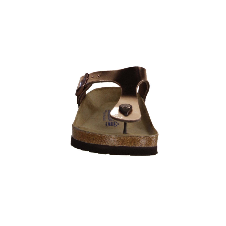 birkenstock Gizeh NL 745601 Metallic Copper