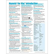 Keynote for Mac Quick Reference Guide, version 7 Introduction (Cheat Sheet of Instructions, Tips & Shortcuts - Laminated Card)