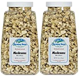 Harmony House Foods, Dried Mushrooms, Bits & Pieces (6 oz Quart Size Jar) – Set of 2 Review