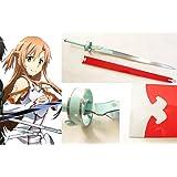 Dream2reality Cosplay sword art online Asuna Lambent Light Medium Carbon Steel Sword