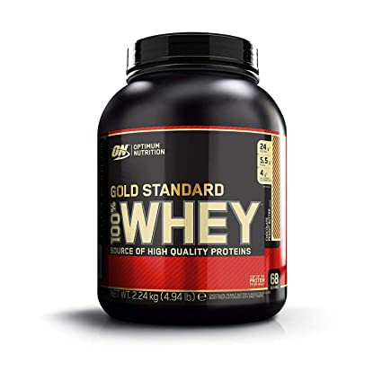 Optimum Nutrition Gold Standard 100% Whey Proteína en Polvo, Chocolate Peanut Butter - 2240