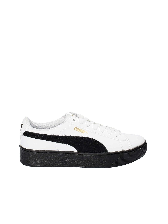 Sneaker PUOMOA 364893 Scarpa Donna Vikky Platform 04 Bianco