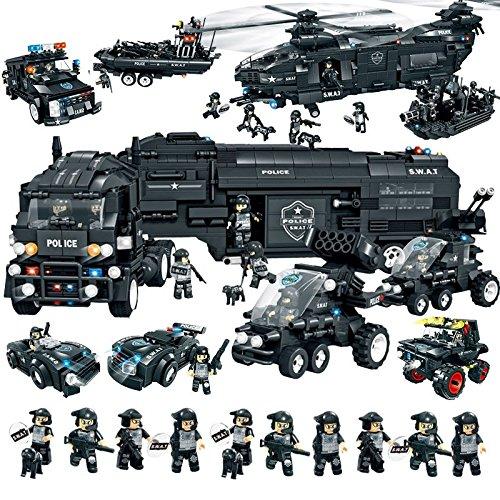 lego police and swat team. Black Bedroom Furniture Sets. Home Design Ideas