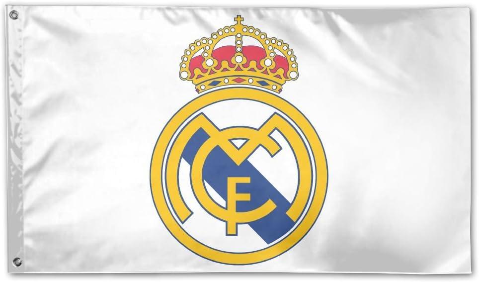 GNJY Bandera de la Bandera del Real Madrid, Brisa de la Mosca ...