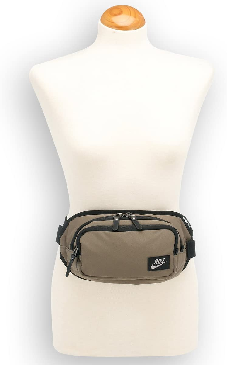Nike riñonera C.O.R, E, cinturón negro 4145-447 27 x 13 cm: Amazon.es: Deportes y aire libre