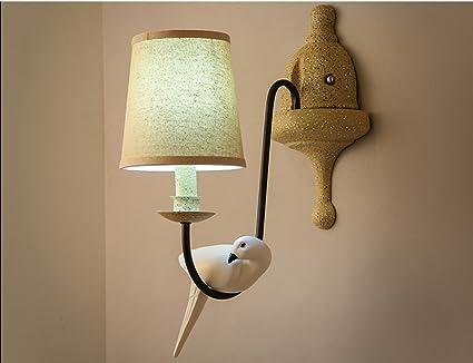 Qqb luce esterna applique e14 led5w lampada da comodino camera da