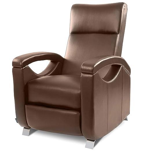 Cecotec Sillón relax de masaje modelo Tokyo, Reclinación push back, Función calor, 10 programas masaje, 10 intensidades, 8 motores, Mando de control ...