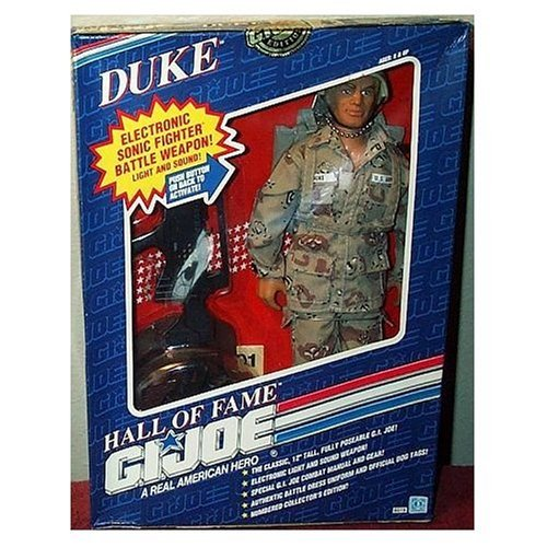G.I. Joe Duke with Electronic Sonic Fighter Weapon 12