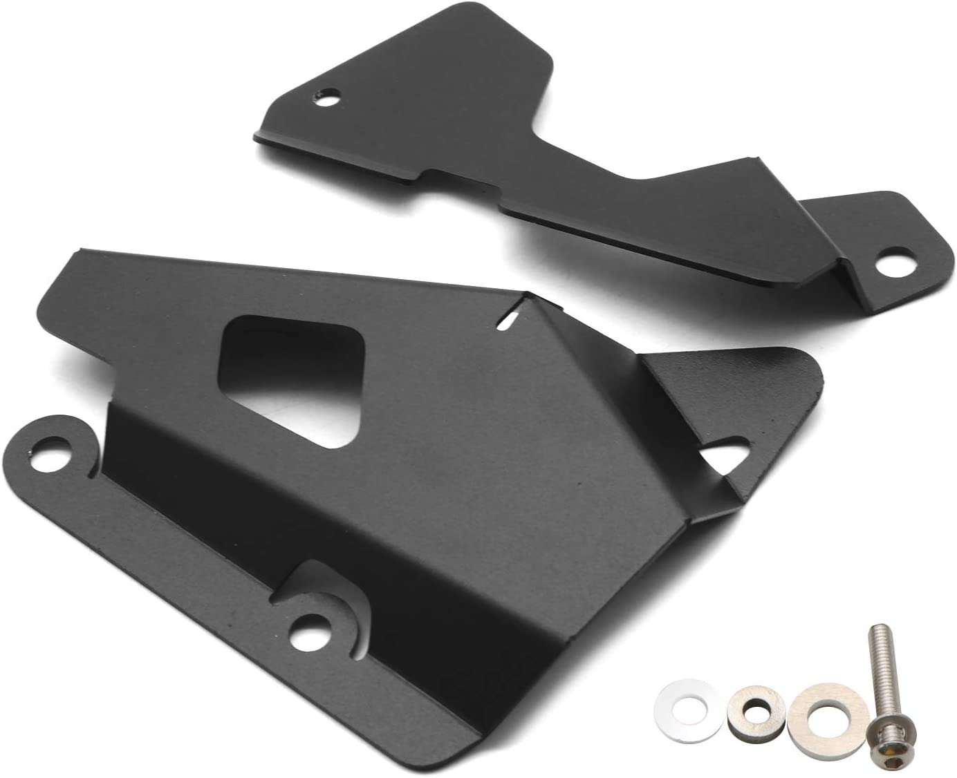 Topteng Motorcycle Rear Brake Reservoir Guard Cover fits for YAMAHA XSR700 2015-2020
