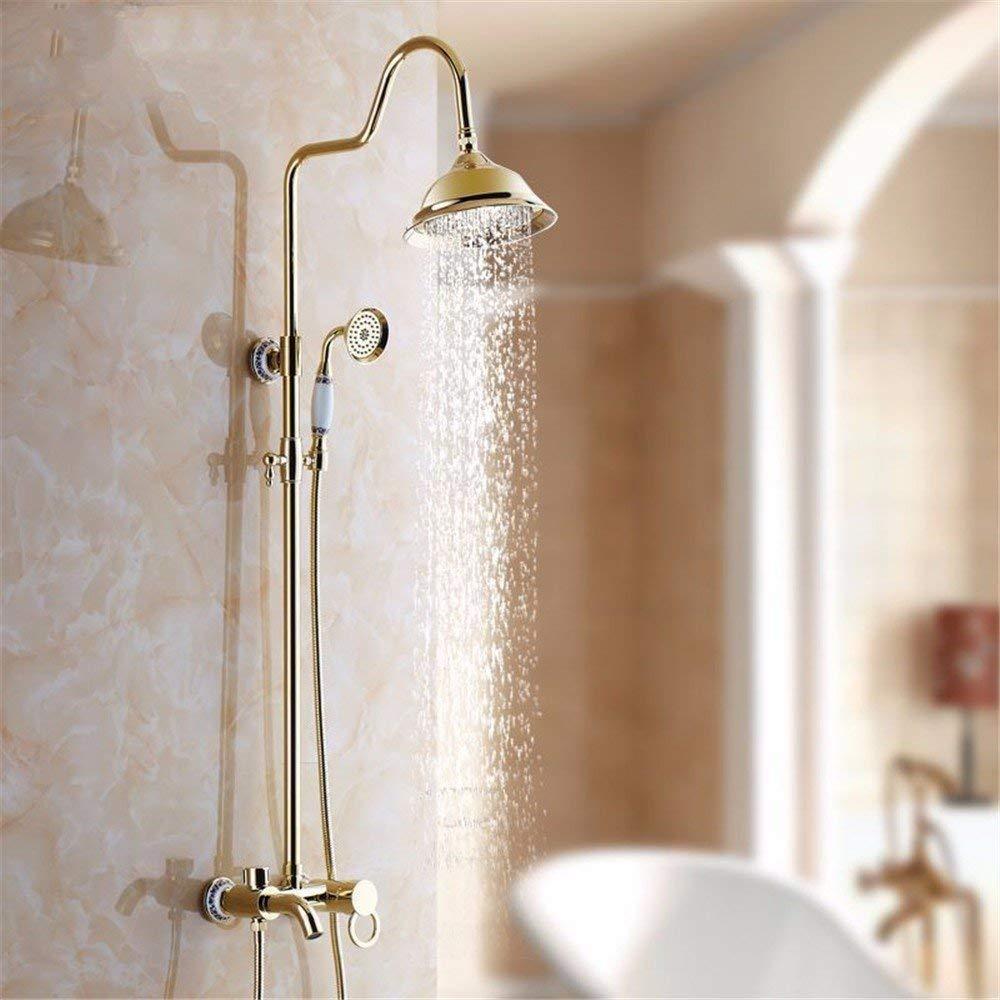 A7 The rain taps, Antique Copper, Black, Pink, gold, Parliament of Flower, Shower, Articles of valves, Bath Rooms, Shower, a 9.