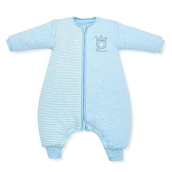 HAIMING-sleeping bag Mono De Bebe Saco De Dormir De La Pierna del Bebé Pijamas De Bebe-Saco De Dormir De Algodón Anti-Patada De Color para Niños: Amazon.es: ...