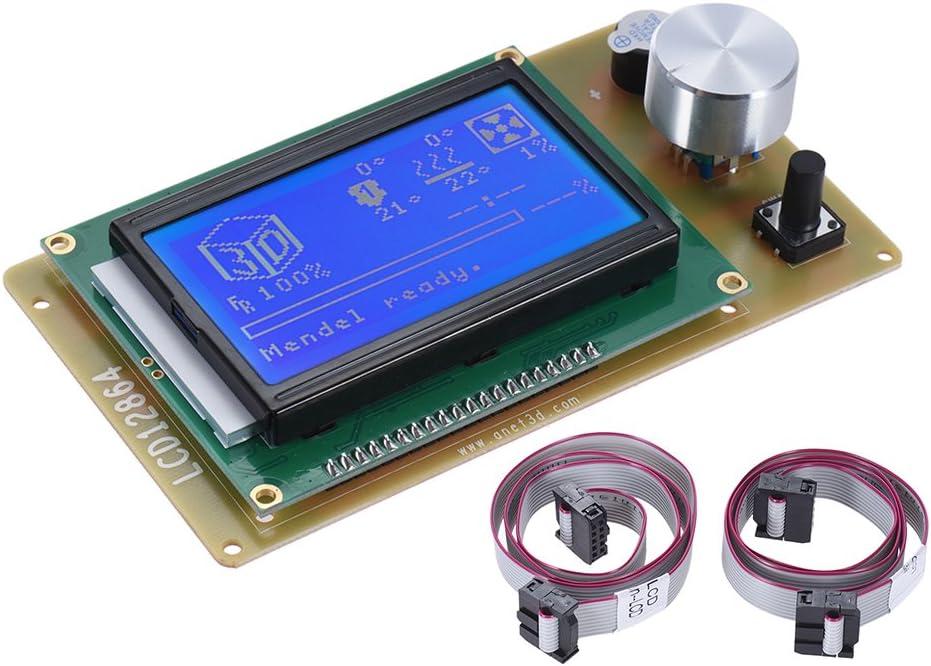 Anet 12864 Lcd Smart Pantalla de Visualización Módulo Controlador ...