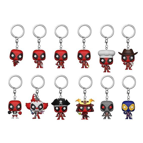 Amazon.com: Funko Pocket Pop Deadpool Mystery Keychain ...