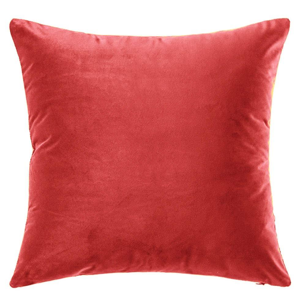 Sofá almohada color sólido almohada color caramelo color ...