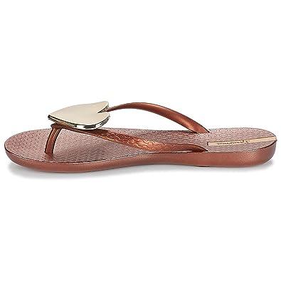 Ipanema Vibe Sandal Fem, Mules Femme, Pink/Bronze, 38