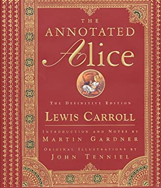 book cover of The Annotated Alice