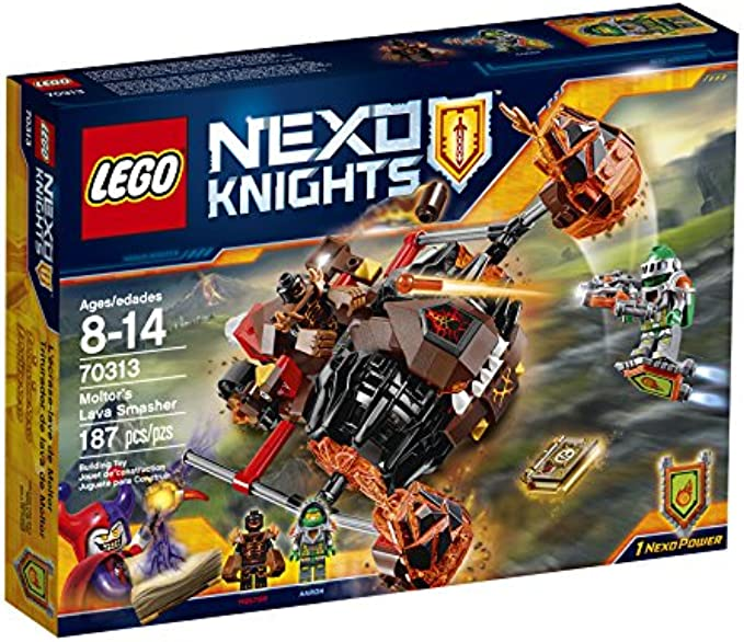 LEGO NexoKnights 70313 Moltor's Lava Smasher