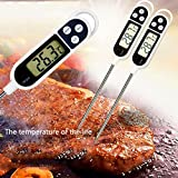 amiciSense Tp300 Digital Food Thermometer Kitchen BBQ Temperature Test with LCD Display Range