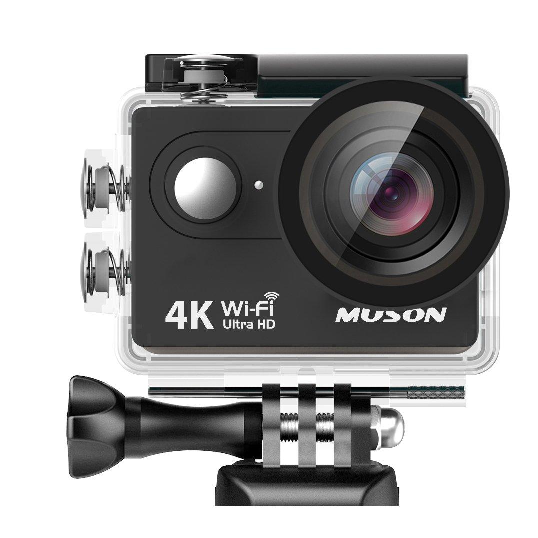 サーフィンにおすすめのアクションカメラ5選 MUSON MC2(ムソン)