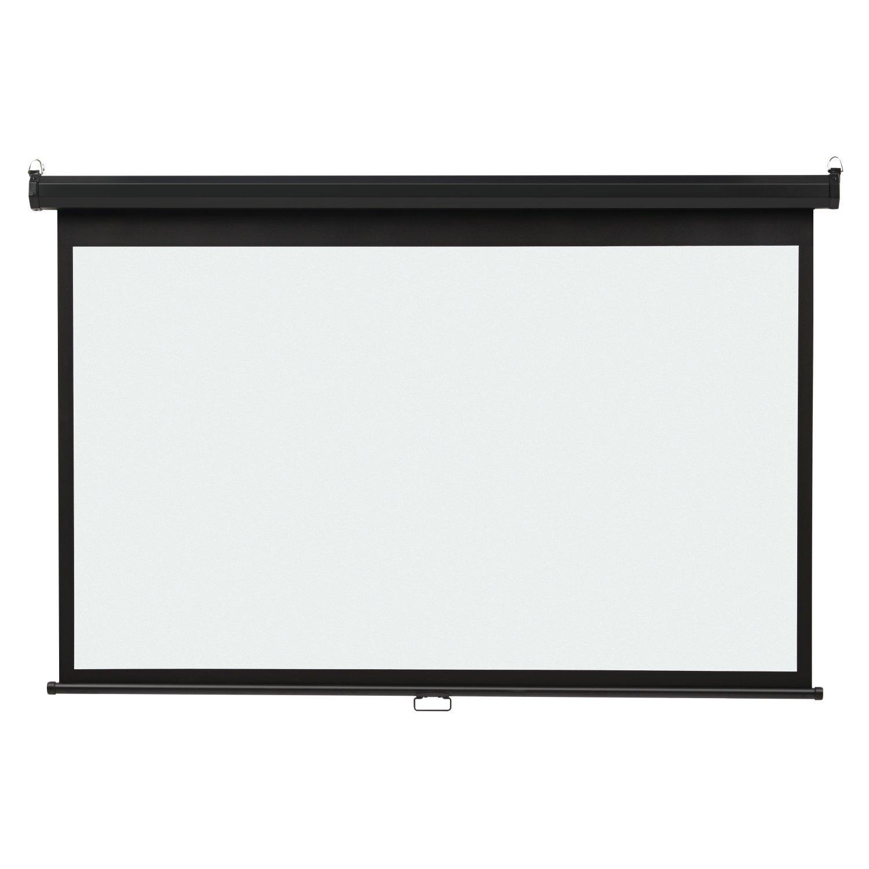 Quartet Projection Screen, Wide Format, 16:9 Aspect Ratio, 52'' x 92'', Wall Mount (85572)