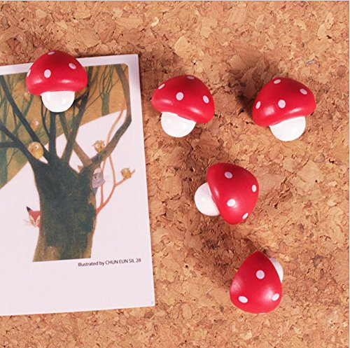 adecco-llc-pack-of-20-cute-red-mushroom-push-pin-for-markinghanging-posters-and-pictures