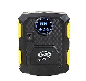 RUIRUI Compresor de Aire Pequeño y Portátil e Inflador de Neumáticos para Coche/Bicicletas, A: Amazon.es: Deportes y aire libre