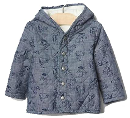 Amazon Baby Gap Boys Girls Peanuts Snoopy Quilted Chambray