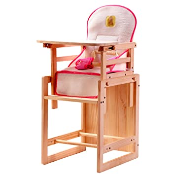 Amazon.com : Th Child Dining Chair Solid Wood Multi ...