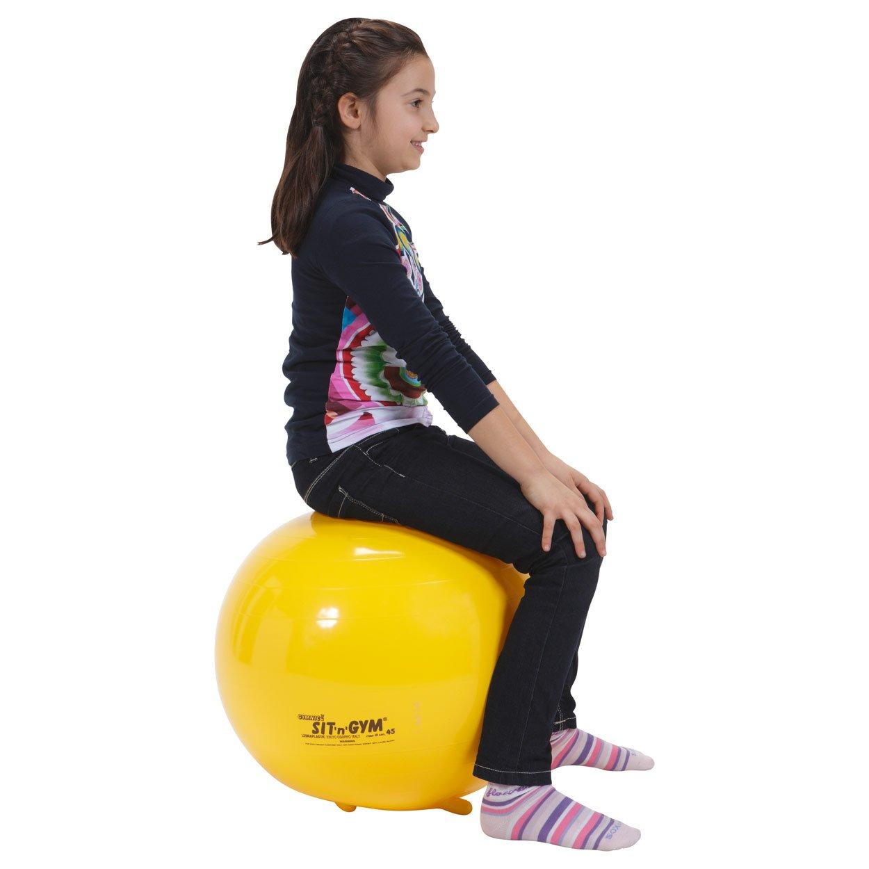 Sit N Gym Jr. 18 Yellow Stability Ball