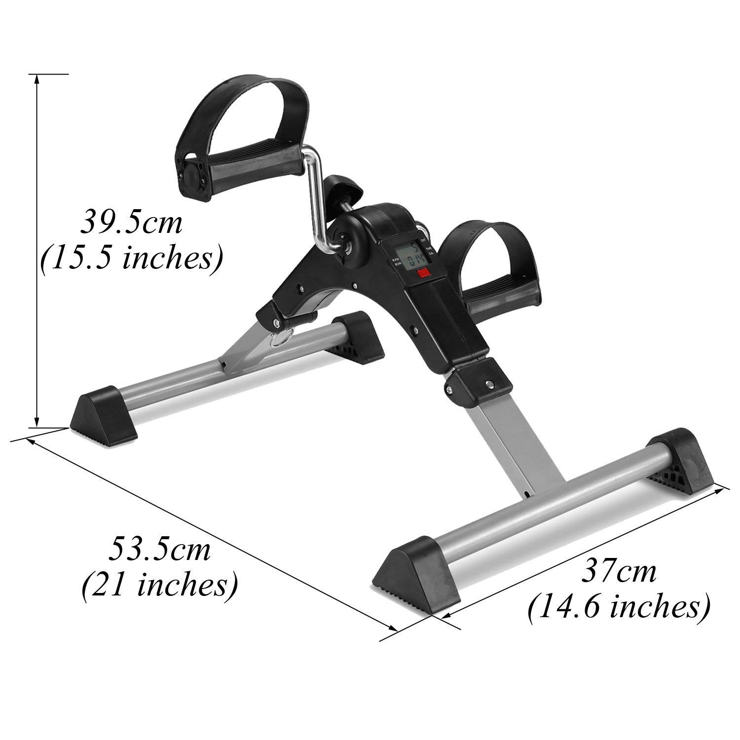 TODO Pedal Exerciser Foot Peddler Desk Bike Foldable with LCD Monitor by TODO (Image #3)