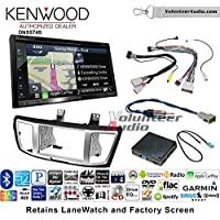 Volunteer Audio Kenwood DNX574S Double Din Radio Install Kit with GPS Navigation Apple CarPlay Android Auto Fits 2013-2017 Honda Accord