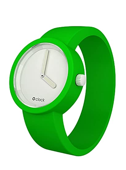 Fullspot Oclock - Reloj unisex de cuarzo, correa de silicona: Amazon.es: Relojes
