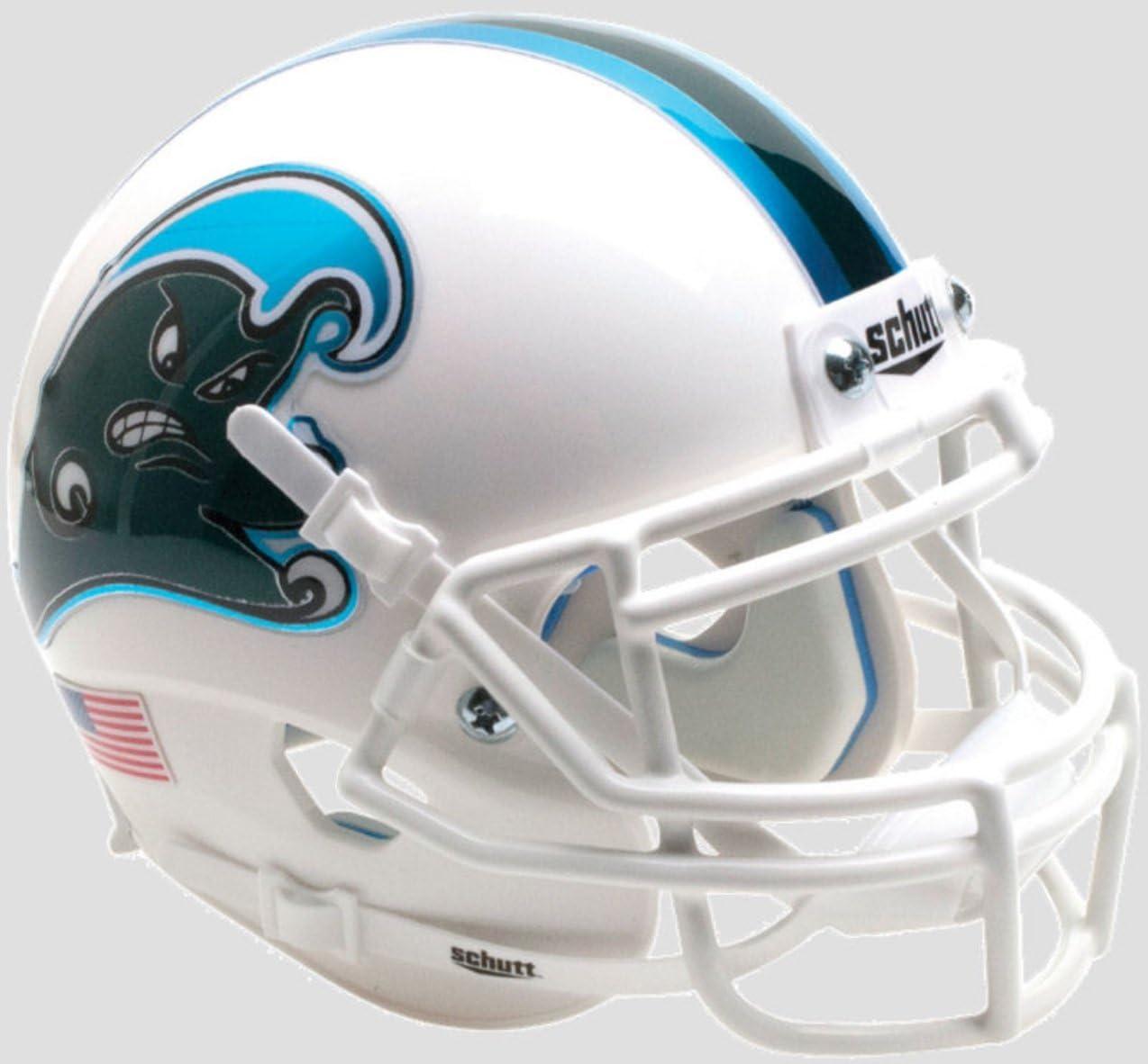 TULANE GREEN WAVE NCAA Schutt Authentic MINI Football Helmet