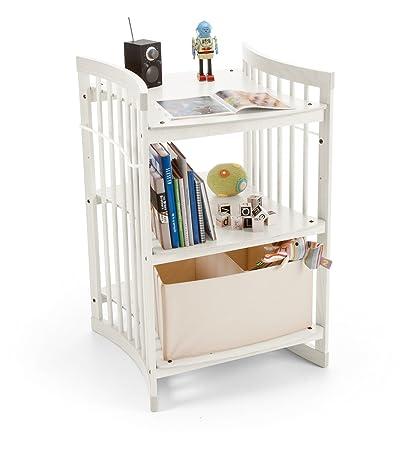 Stokke - Cambiador/vestidor de madera de haya â® care blanco ...
