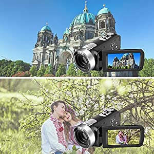 Camcorder Digital Camera Pause Function Camcorders by SUNLEA