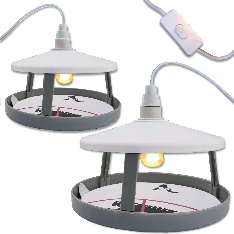 Fly-Bye 2X Trampa de Pulgas Definitiva 12 Discos Adhesivos – La Única Lámpara Insecticida de 15W en Amazon – Imita la Temperatura Corporal del Animal – El Mata Pulgas Más Efectivo del Mercado