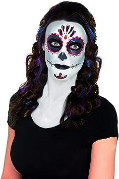 Halloweenia Juego de Maquillaje para Mujer, Incluye Tatuajes ...