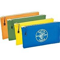 Klein Tools Bolsa com zíper 5140, bolsa utilitária, use como bolsa de depósito bancário, bolsa de ferramentas ou bolsa…