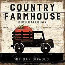 Country Farmhouse 2019 Wall Calendar