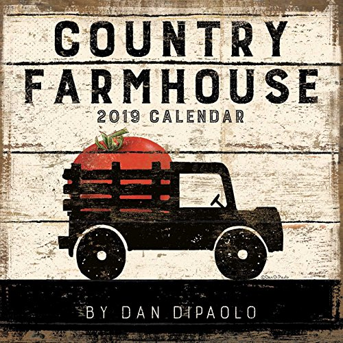 Country Farmhouse 2019 Wall Calendar ()