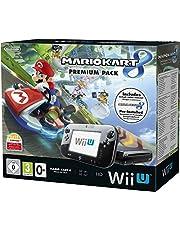 Console Nintendo WII U 32 Go noire + Mario Kart 8 préinstallé - premium pack [Importación Francesa]