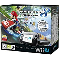 Nintendo Wii U Mario Kart 8 Download Premium Pack Wifi Negro - videoconsolas (Wii U, 2048 MB, IBM PowerPC, AMD Radeon, DVD, SD,SDHC)
