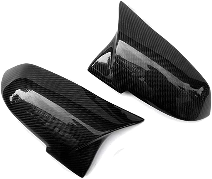 1Pair Replacement ABS Rearview Side Mirror Covers M Trim for BMW 3 Series F30 F34 F31 1 Series F20 F21 2 Series F22 F23 4 Series F32 F33 F36 F87 Fandixin F30 Mirror Covers M2 X1 Sereis E84 2013-2015