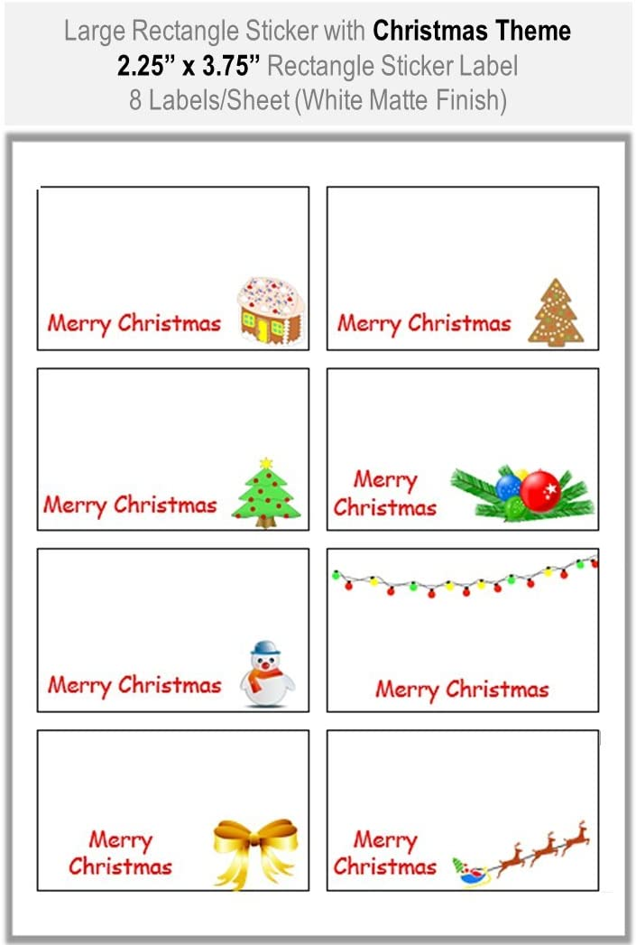 SALE 4 x Christmas Designs Borders Corners Outline Peel Off Stickers in Silver